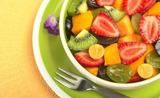 Os benef cios de comer salada de frutas dicas de mulher - Alimentos no permitidos en el embarazo ...