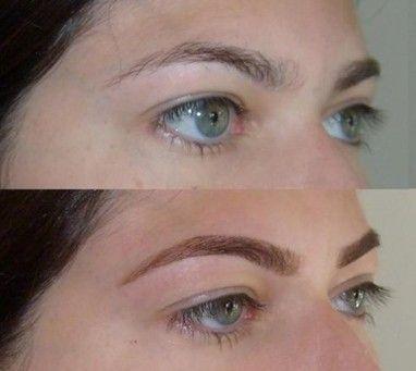 alisamento de sobrancelha antes depois Alisamento de sobrancelha   veja como funciona