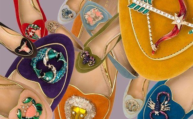 charlotte olympia birthday shoes e zodiac pandora Charlotte Olympia lança calçados e clutches inspirados nos signos