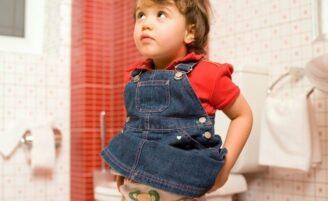 Como lidar com a prisão de ventre infantil