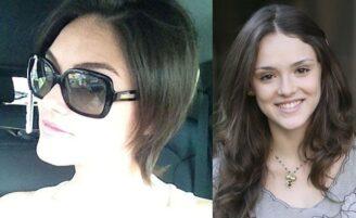 O novo corte de cabelo de Isabelle Drummond