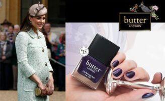 Butter London homenageia bebê de William e Kate com um esmalte