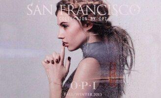 O.P.I San Francisco chega com 15 novas cores de esmalte