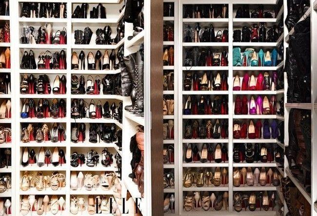 Veja os closets incríveis de: Christina Aguilera, Mariah Carey entre outras estrelas!