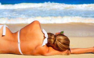 5 maneiras de aliviar as queimaduras de sol