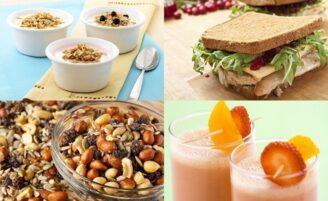 10 ideias de lanches rápidos e saudáveis para o dia a dia