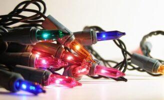 13 ideias criativas para reaproveitar o pisca-pisca de Natal