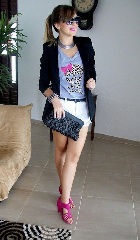 blazer blog futil nunca inutil Blazer feminino: aprenda a criar looks delicados e sofisticados com a peça