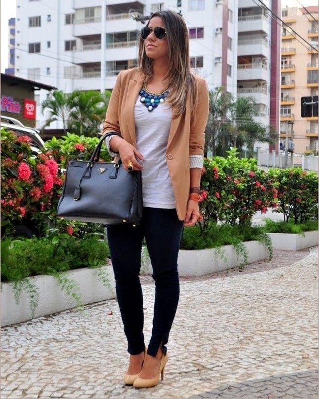 blazer das guimaraes Blazer feminino: aprenda a criar looks delicados e sofisticados com a peça