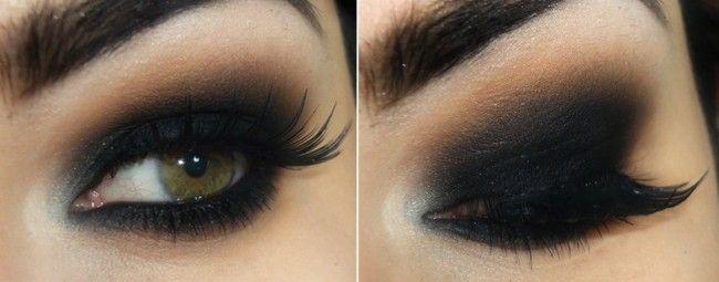 maquiagem esfumado preto bruna tavares Maquiagem preta: o esfumado escuro queridinho das mulheres