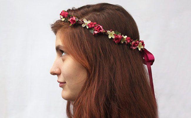tiara de flores 3 Como usar tiaras: adote o acessório e inove nos penteados