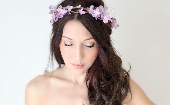 tiara de flores 4 Como usar tiaras: adote o acessório e inove nos penteados