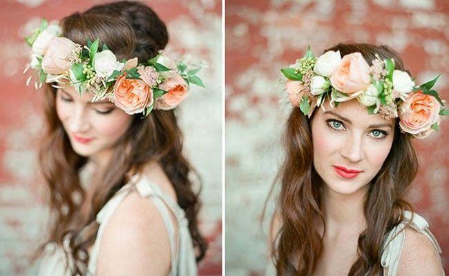 tiara de flores 7 Como usar tiaras: adote o acessório e inove nos penteados