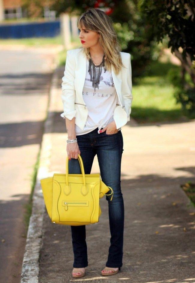 look 1 jeans tshirt blog com drama Como transformar looks básicos: 10 ideias fáceis de seguir