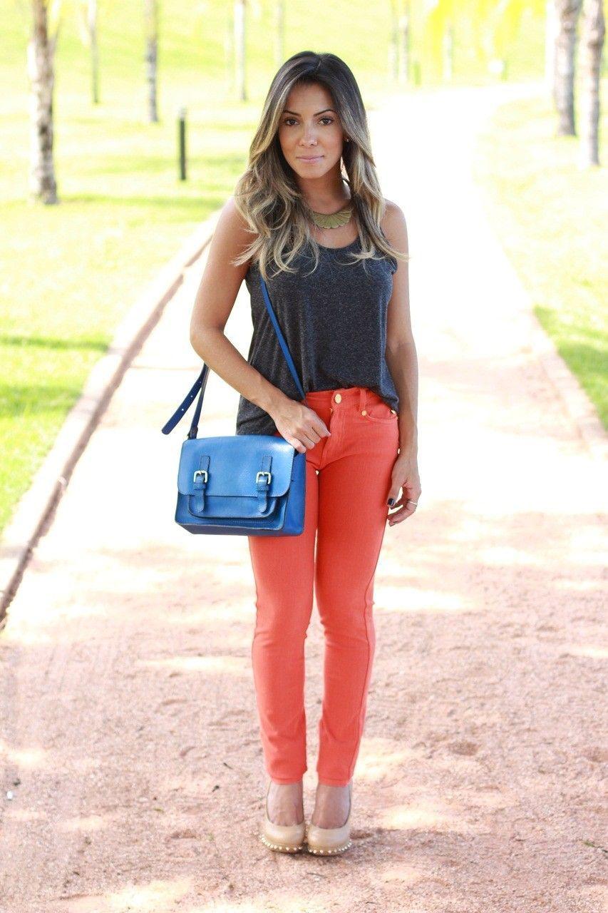 look 9 look calca colorida blog viva moda Como transformar looks básicos: 10 ideias fáceis de seguir
