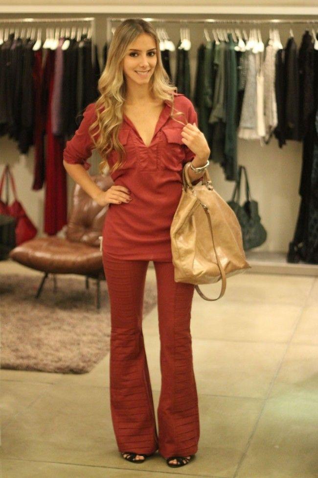 look monocromatico onca de tule 2 Dicas de moda essenciais para mulheres baixinhas