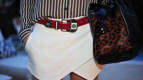 Como usar o short saia assimétrico