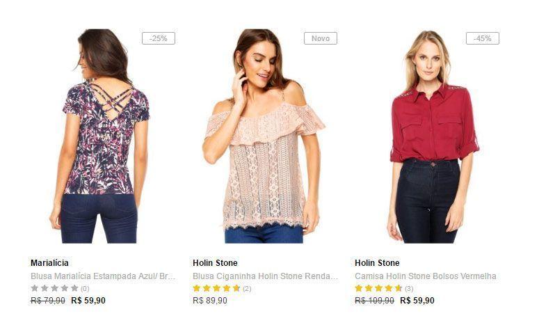 05da7d9ff 10 lojas online com roupas bacanas e baratas - Dicas de Mulher