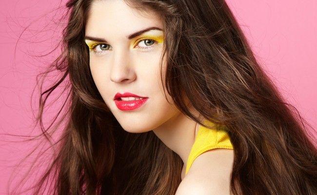 maquiagem colorida 2 Maquiagem colorida: saiba como combinar as cores no make