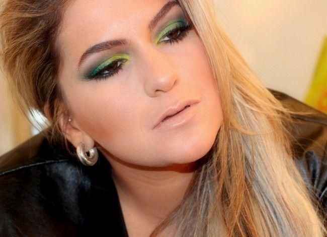 maquiagem colorida alice salazar 1 Maquiagem colorida: saiba como combinar as cores no make