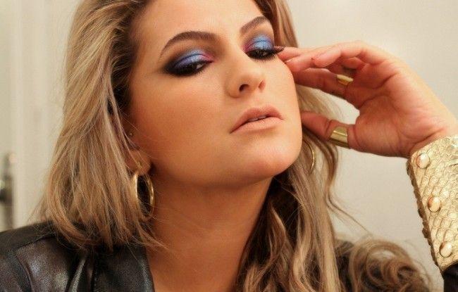 maquiagem colorida alice salazar 2 Maquiagem colorida: saiba como combinar as cores no make
