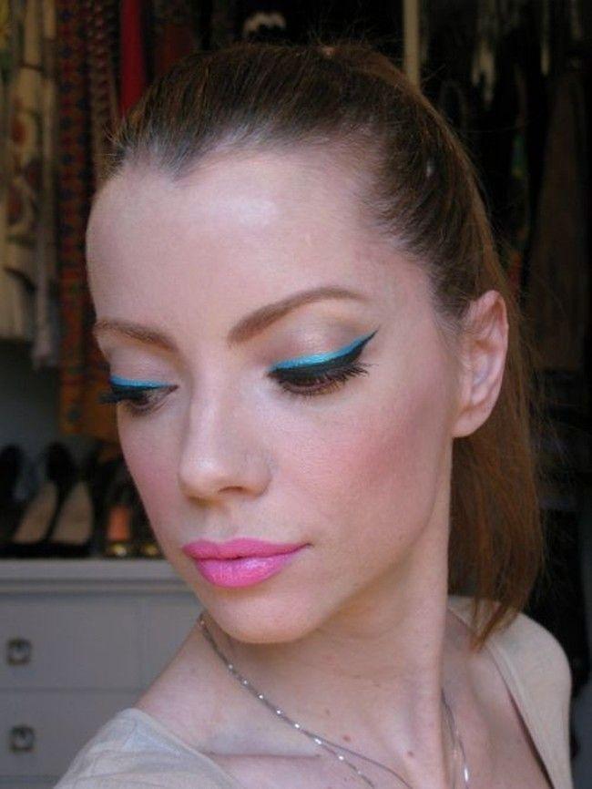 maquiagem colorida julia petit Maquiagem colorida: saiba como combinar as cores no make
