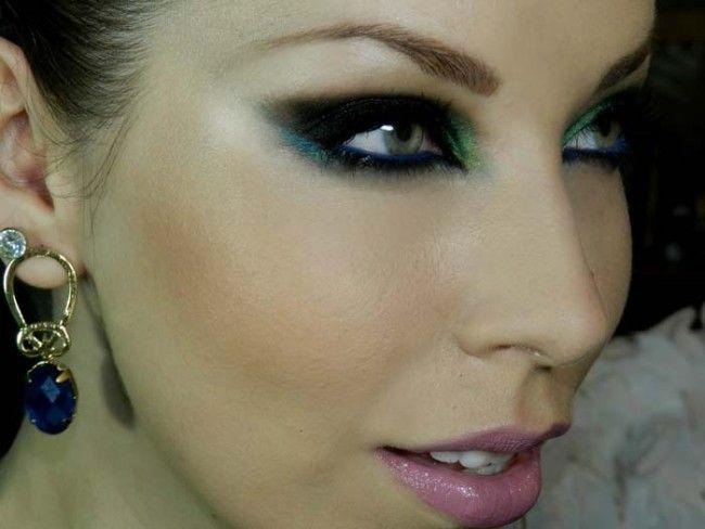 maquiagem colorida luciane ferraes Maquiagem colorida: saiba como combinar as cores no make