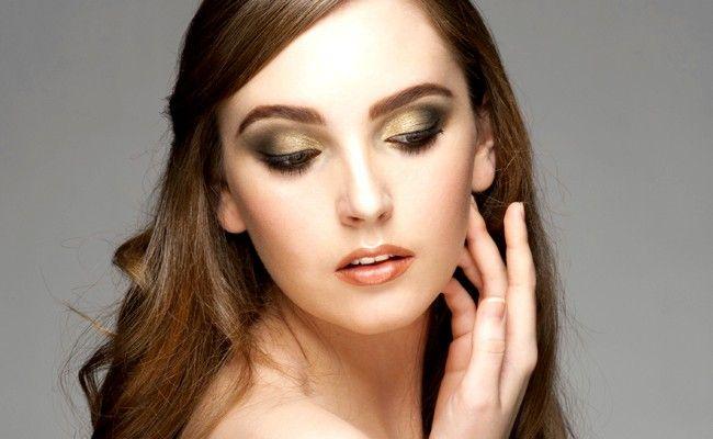 Bolsa Dourada Durante O Dia : Maquiagem dourada para estar linda durante o dia e