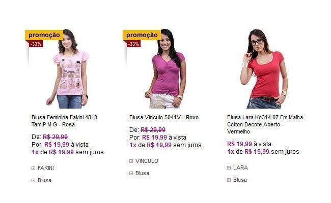422266098 10 lojas online com roupas bacanas e baratas - Dicas de Mulher