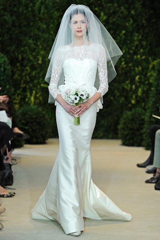 1d8a97b9e8fb Immagini  10 abiti da sposa a maniche lunghe