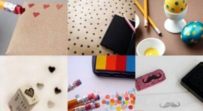 10 usos inusitados para o lápis e a borracha escolar