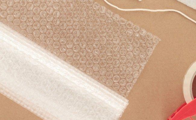 13 formas de reutilizar o plástico bolha