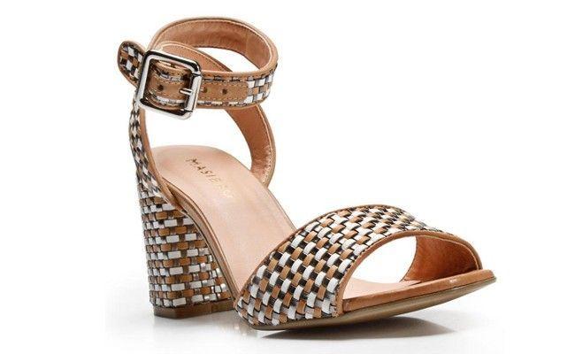 sandalia tiras salto grosso Sandália de salto alto: conheça os modelos e veja como usar cada um