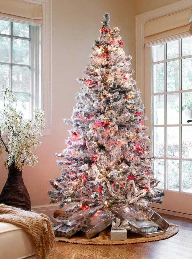 ideias para decorar arvore de natal branca : ideias para decorar arvore de natal branca:arvore de natal 10 Como decorar a casa para o Natal: dicas simples