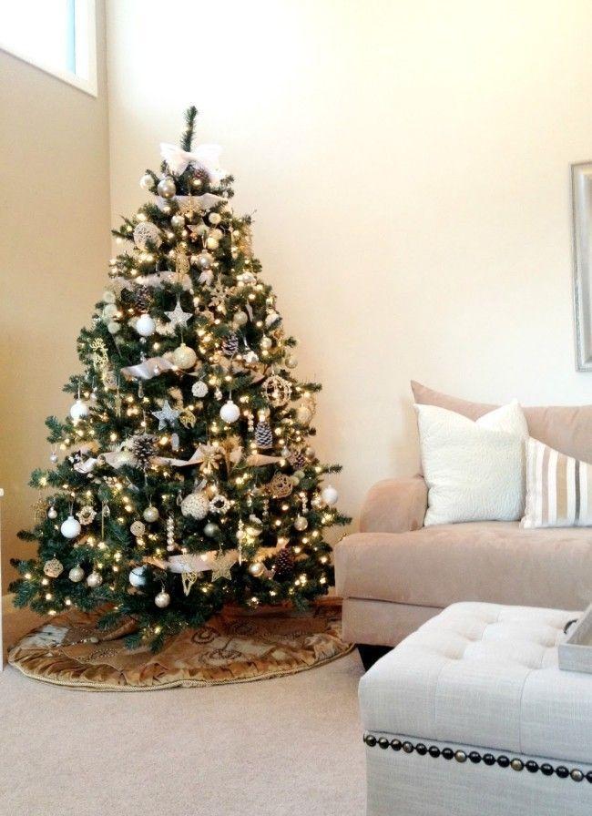 decorar arvore natal simples:arvore de natal 2 Como decorar a casa para o Natal: dicas simples para