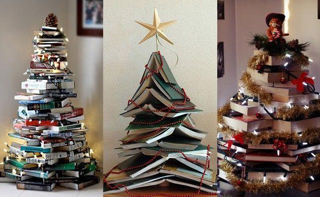 Arvore De Natal De Livros Como Montar E Decorar Uma árvore De Natal ~ Decorar Uma Arvore De Natal