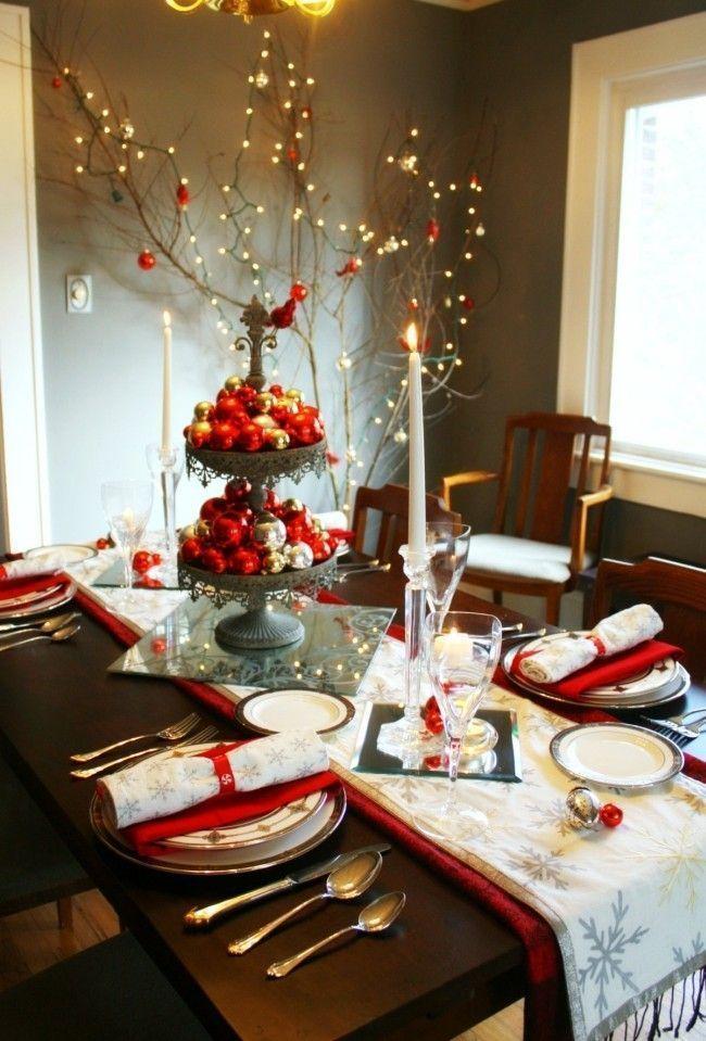 decoracao mesa natal 01 Como decorar a mesa para o Natal: dicas e sugestões para inspirar