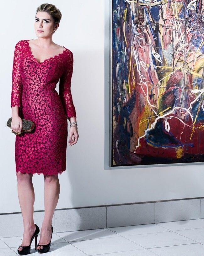 look com vestido de renda 3 Vestido de renda: opção delicada para os mais variados looks