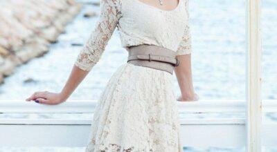 Vestido de renda: opção delicada para os mais variados looks