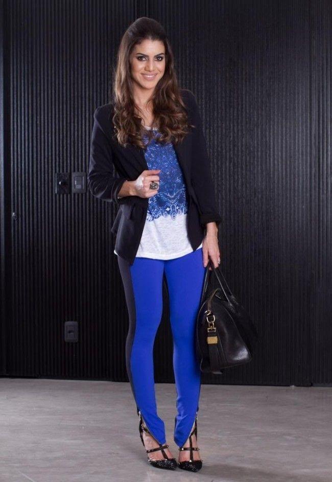 look blogueira azul klein 2 Azul klein: como usar a cor em diferentes combinações