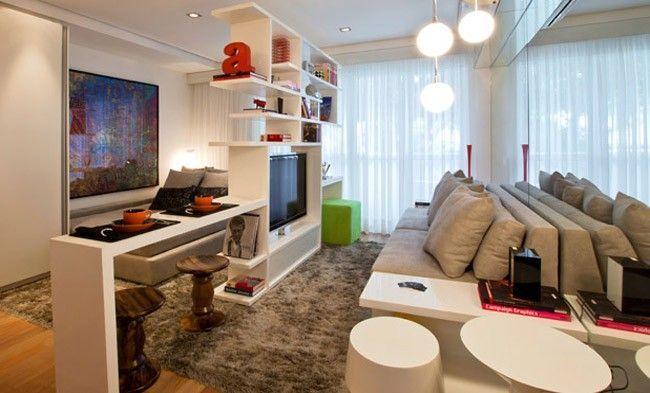 21 dicas para decorar apartamentos muito pequenos dicas for Modelos de apartamentos pequenos