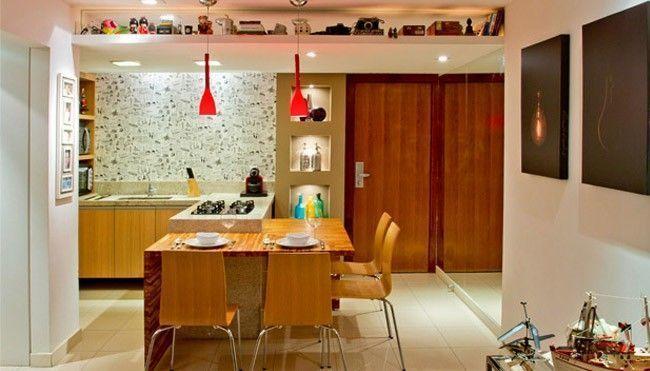 21 dicas para decorar apartamentos muito pequenos dicas for Decorar casa 45 m2