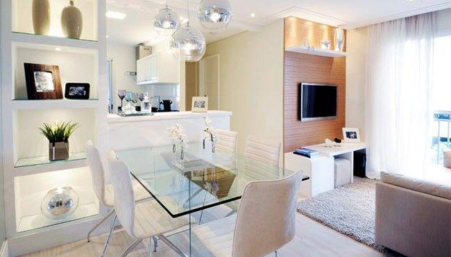 decoracao de interiores para ambientes pequenos : decoracao de interiores para ambientes pequenos:feitos para um apartamento de 46 metros quadrados. Projeto de