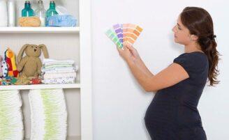 Como escolher a cor do quarto do bebê