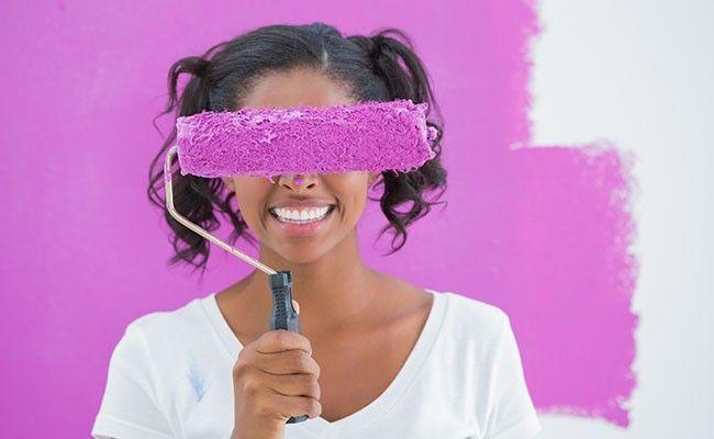 Como pintar paredes guia pr tico e f cil para seguir dicas de mulher - Pintar facil paredes ...