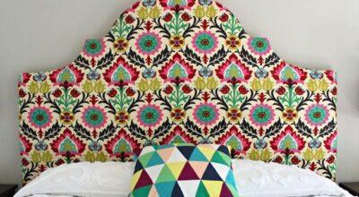 8 ideias diferentes de cabeceira de cama para fazer você mesma