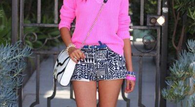 Shorts estampados são versáteis, confortáveis e atemporais
