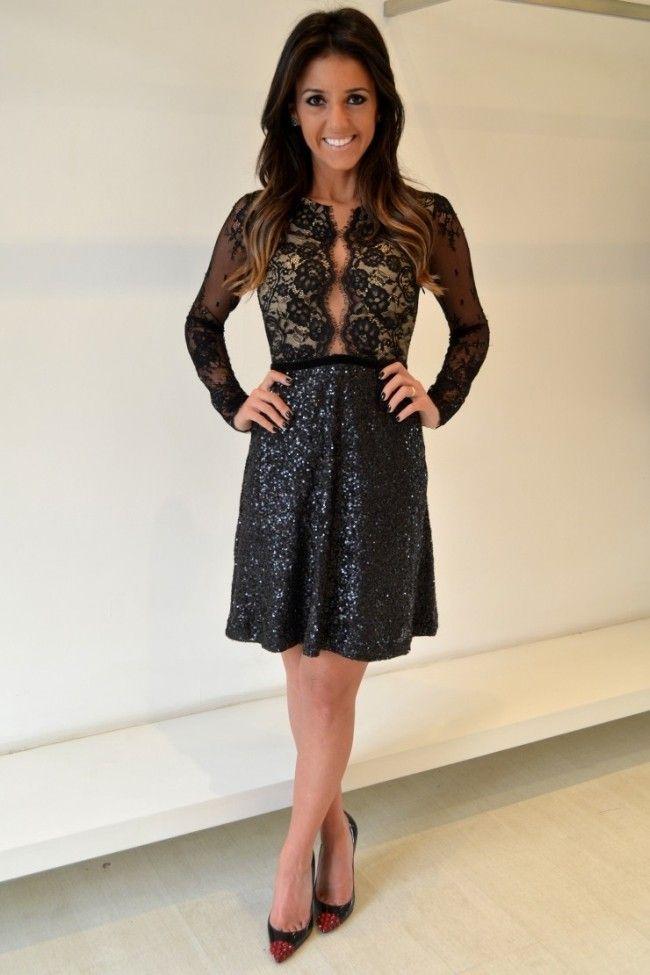 blogueira vestido de paete 1 Vestido de paetê: as melhores dicas para brilhar com o seu look