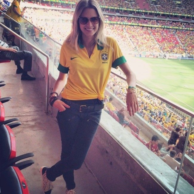 look copa do mundo helena bordon Looks para a Copa do Mundo: como se vestir para torcer pelo Brasil