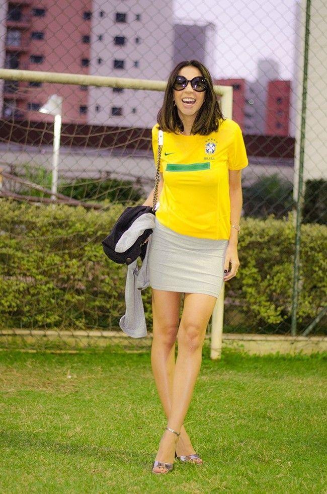 look copa do mundo sanduiche de algodao Looks para a Copa do Mundo: como se vestir para torcer pelo Brasil